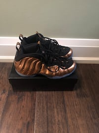Nike Foamposite metallic bronze