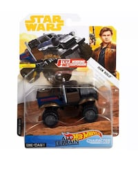 Rare Hotwheels All Terrian Diecast Han Solo Vehicle