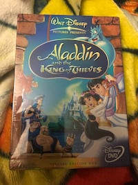 Brand New Disney DVD Aladin and the King of Thieves Gatineau, J8T 1Y1