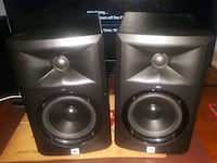 two black and gray speakers Miami, 33193