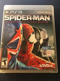 Spider-Man Shattered Dimensions [PS3 Game]