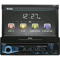 "Boss 7"" Touch screen CD player Barberton, 44203"