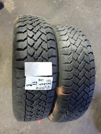 I am selling A set of two 185/70R14 mud and snow PACEMARK tires  VANCOUVER