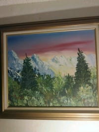 Oil painting. One of a kind Laredo, 78043