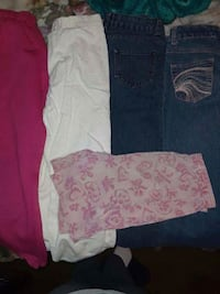 Girl 10 4-pants $3ea 1-short .50 Bakersfield, 93307