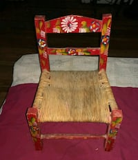 red and white floral armchair Ceres, 95307