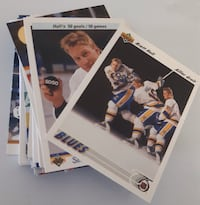 33 St. Louis Blues Cards... $5 Firm For All 32 Car Calgary