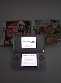Nintendo DS with 3 games