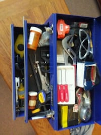 KOBALT TOOL BOX & TOOLS 2-draws & tray Hyattsville, 20783