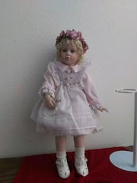 girl doll in white dress Redding, 96002