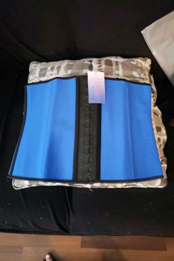 New with Tag Blue Waist Trainer  5c765b6b-cfcb-4600-b1c5-242cbf2744e4