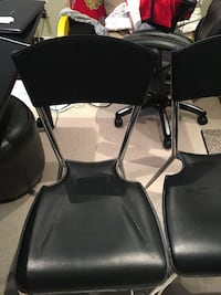 2 leather dining chair , good condition! $15 each Richmond Hill, L4S 2R5