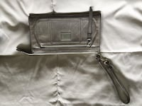 women's gray leather wristlet Colwood, V9C 2R6