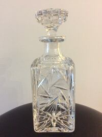 crystal decanter Toronto, M1J 1G3