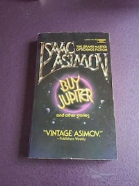 "Isaac Asimov's ""Buy Jupiter and other stories."""