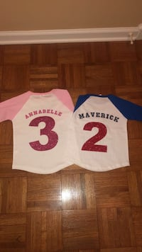 Personalized baseball tees for kids  Bristol, 24202