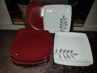 plates set of 8 each in excellent condition  Coquitlam, V3B 4T4