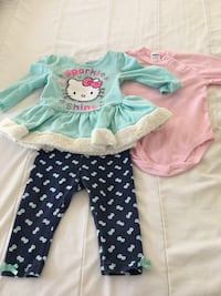 Hello Kitty outfit size 12 months  Las Vegas, 89139