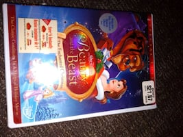Disney beauty and the beast Enchanted Christmas DVD brand new sealed