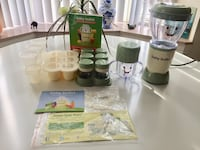 Baby Bullet NEW condition with all the accessories and the instructions warranty and cookbook. Stoney Creek, L8G 1B8