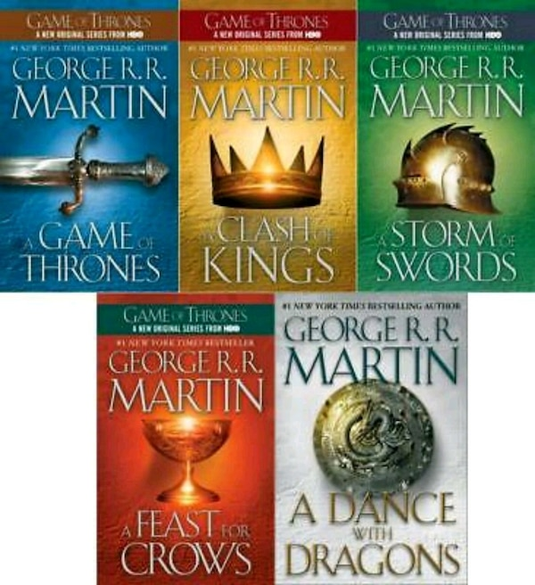 Game of thrones book series