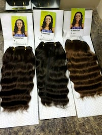 100%synthetic hairs color =33, 33&30 availab Fort McMurray, T9H 4K1