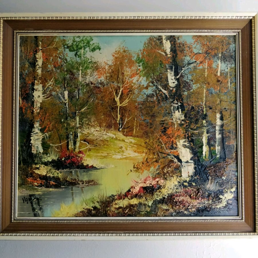 Original Oil on Canvas by listed artist VARGA  0eb8c737-40ad-4c2f-8d02-b8f1ca40dd9b