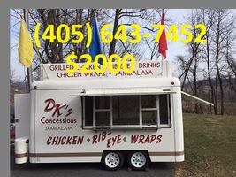 Concession Food Trailer 18'