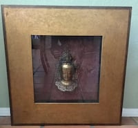 43 inch square wide frame Buddha wall hanging Bakersfield, 93311