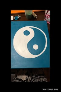 Yin and Yang painting  Modesto, 95357