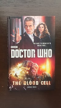 """Книга «Doctor Who: The Blood Cell"""" Moscow, 109451"""