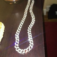 silver-colored chain necklace Allentown, 18102