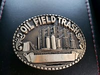 1970s Vintage & Rare Oil Field Trash Belt Buckle Calgary, T2R 0S8