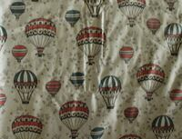 Hot Air Ballon 2 yds Fabric Davis