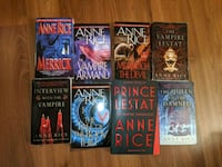 Anne Rice series 5$ each or all 8 for 40 Vaughan, L6A 3C8