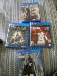 Ps4 games all 4 for 20 Savannah