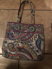 blue, green, and white paisley print crossbody bag Shelbyville, 37160
