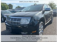 2008 Lincoln MKX Virginia Beach