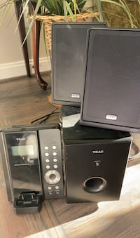 Powerful Teac Mini Stereo system