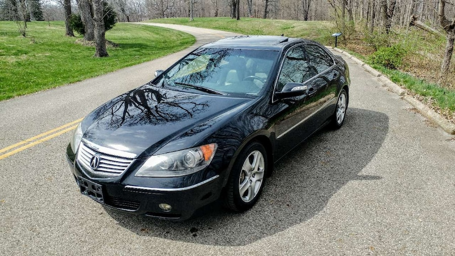used 05 acura rl sh awd w navi in chillicothe. Black Bedroom Furniture Sets. Home Design Ideas