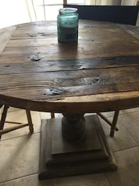 "Rustic wood, ""restoration hardware"" style table Germantown, 20874"