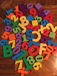 Magnetic letters and numbers Lawrence, 66049