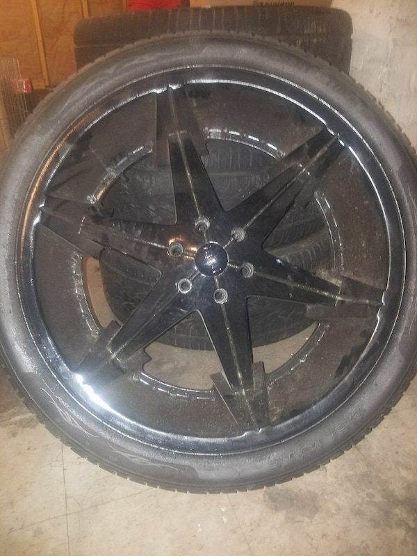 Used 24 Inch Rims For Sale In New Haven Letgo