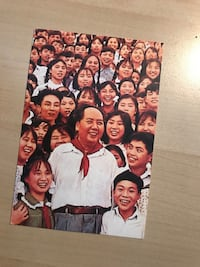 (New) Mao and friends(Chinese Politics post card) Toronto, M2N 5X2