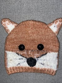 Deluxe Fox Beanie with Jeweled Eyes