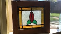 Stained glass flower  Toronto, M6E 4K4