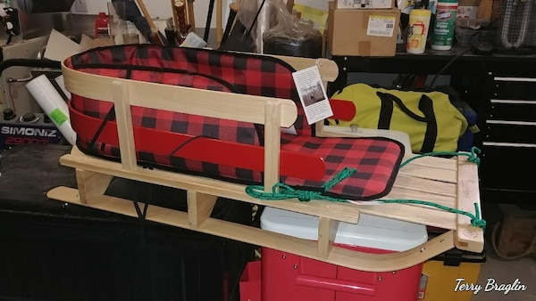 Canadian-made Sleigh