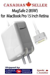 85W T – Tip Magsafe2 Power Adapter MacBook Pro 15″ TORONTO