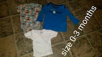 toddler's three assorted shirts Shippensburg, 17257