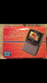 "Optimus 2.3"" color pocket lcd tv box Knoxville, 37902"